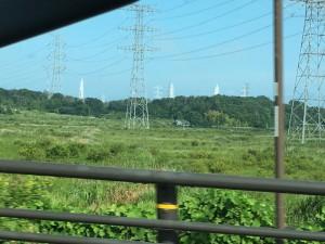 福島第一原発の排気塔